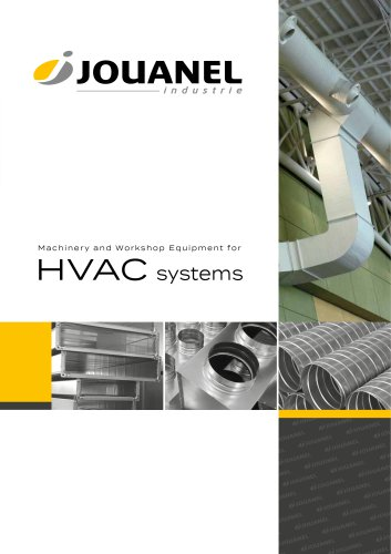 Machinery and workshop equipment for HVAC systems
