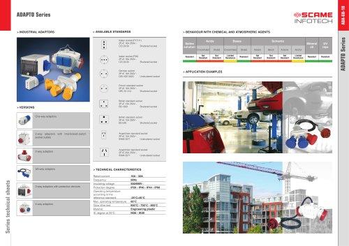 ADAPTO Series Industrial adaptors