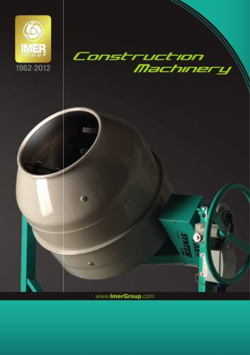 construction machinary brochure