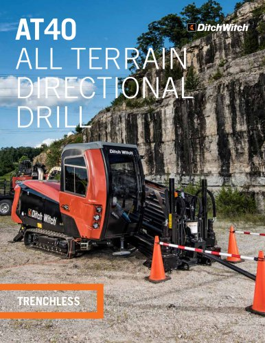 AT40 ALL TERRAIN DIRECTIONAL DRILL