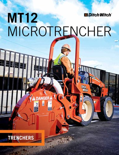 MT12 MICROTRENCHER