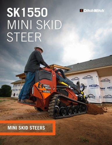 SK1550 MINI SKID STEER - The Charles Machine Works, Inc