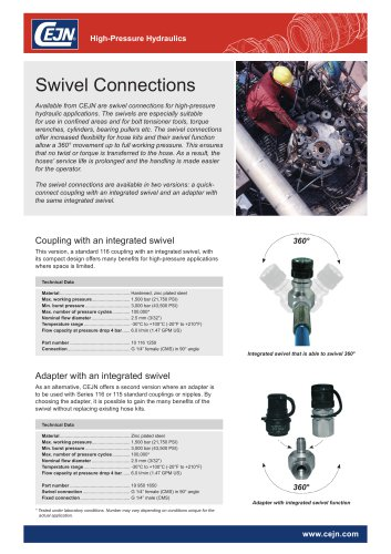 Swivel Connections