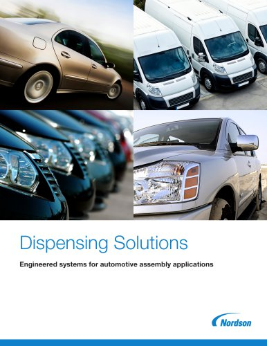 Dispensing Solutions - Engineered systems for automotive assembly applications