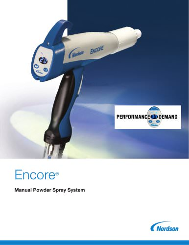 Encore® Manual Powder Spray System