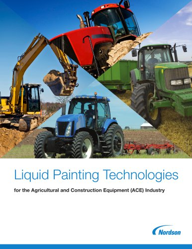 Liquid Painting Technologies for the Agricultural and Construction Equipment (ACE) Industry