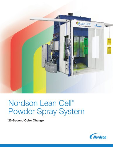 Nordson Lean Cell® Powder Spray System