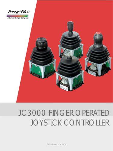 JC3000 Finger Operated Joystick Controller
