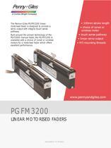 PGFM3200 Linear Motorised Faders