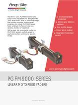 PGFM9000 Series Linear Motorised Faders