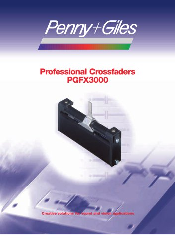 PGFX3000 Professional Crossfader