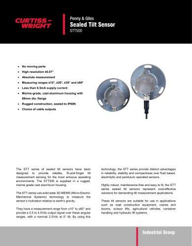 Sealed Tilt Sensor STT500