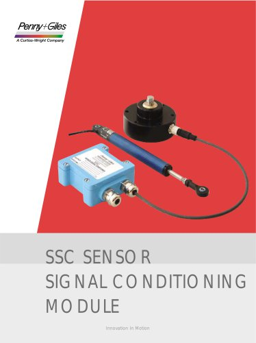 SSC SENSOR SIGNAL CONDITIONING MODULE