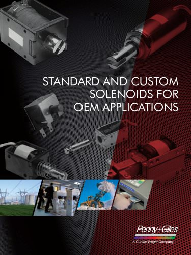 Standard and Custom Solenoids for OEM Applications