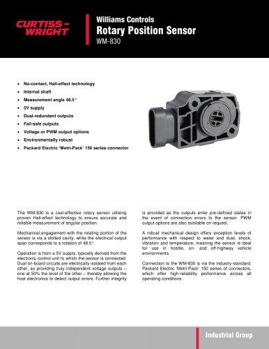 WM-830 Rotary Position Sensor