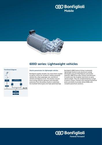 600D series : Lightweight vehicles