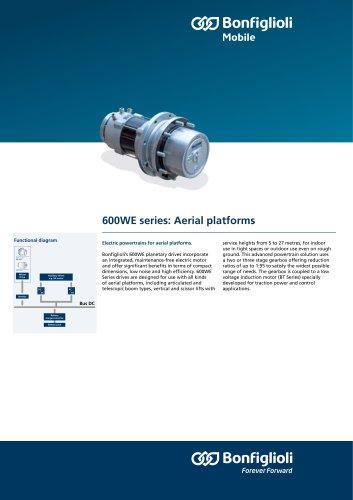600WE series: Aerial platforms