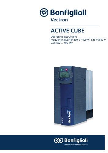 Active Cube Operating Instructions Frequency Inverter 230 V / 400 V / 525 V / 690 V 0,25 kW ... 400 kW
