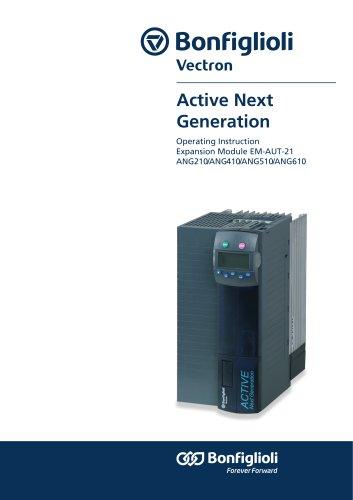 Active Next Generation Operating Instruction Expansion Module EM-AUT-21 ANG210/ANG410/ANG510/ANG610