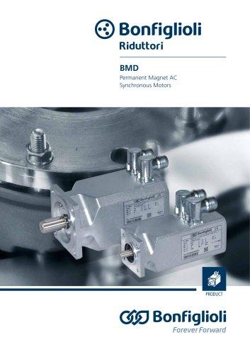 BMD series - Permanent Magnet AC Synchronous Motors