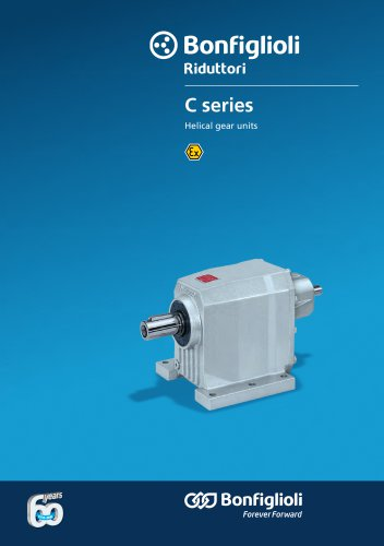 Helical gear units C Series - Atex