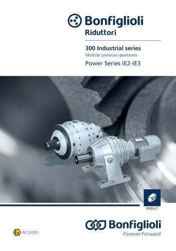 Modular planetary gearboxes Power Series IE2-IE3