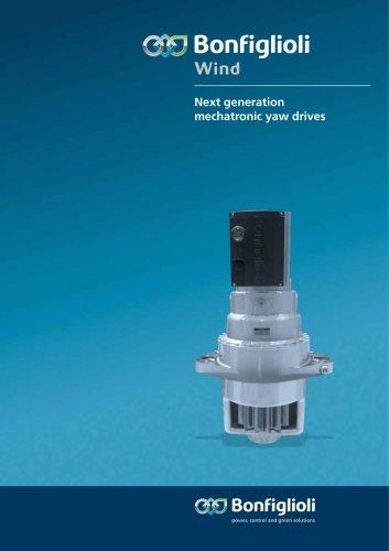 Next generation mechatronic yaw drives