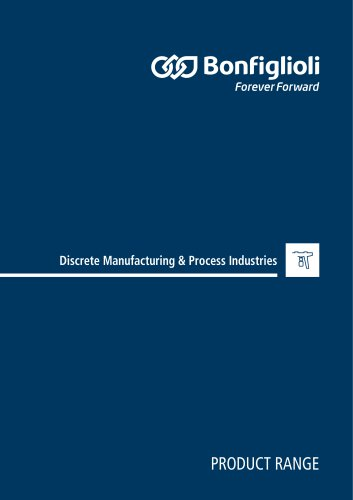 Product Range Catalogue- Discrete Manufacturing & Process Industries
