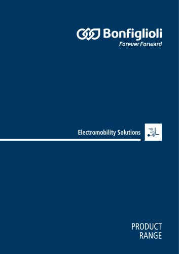 Product Range Catalogue-Electromobility Solutions