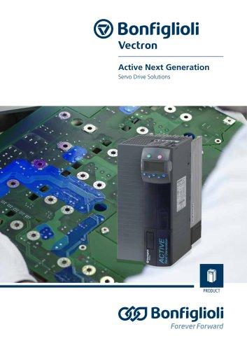 Servo Drive Solutions - Active Next Generation
