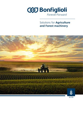 Solutions for Agriculture and Forest machinery