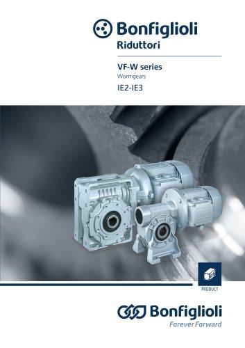 VF-W series - Wormgears IE2-IE3