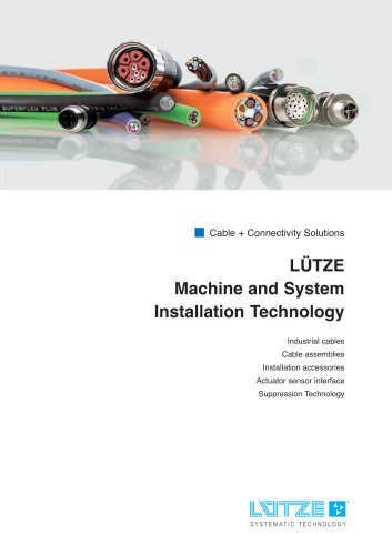LÜTZE Machine and System Installation Technology