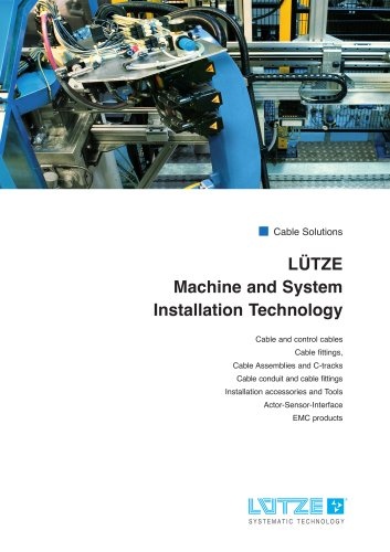 Machine and System Installation Technology