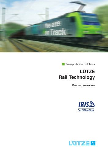 Product overview Railway engineering