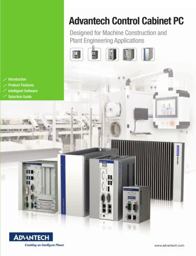 Control Cabinet PCs