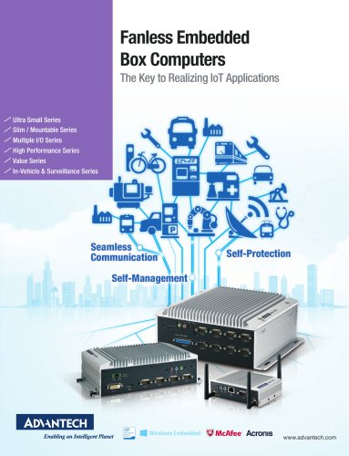 Fanless Embedded Box Computers