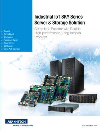 Industrial IoT SKY series - Server & Storage Solutions
