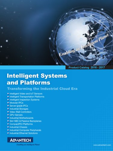 Intelligent Systems and Platforms Catalog
