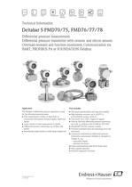 Deltabar S PMD70 - 1