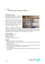 Juice application: CIP unit, Application 1 - 1