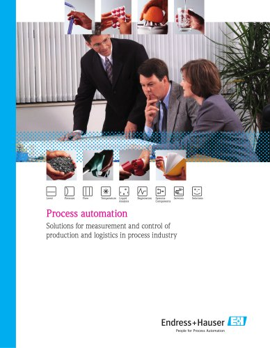 Process automation - Solutions for measurement and control of