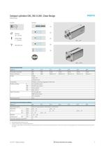CDC Compact cylinders, ISO 21287, Clean Design - 5