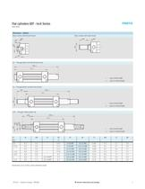 Flat Cylinders DZF - Inch Series - 7