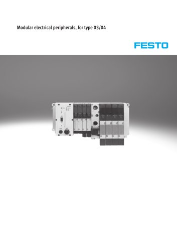 Modular electrical peripherals, for type 03/04