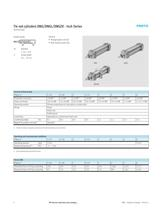 Tie rod cylinders DNG/DNGL/DNGZK – Inch Series - 2