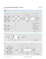 Tie rod cylinders DNG/DNGL/DNGZK – Inch Series - 5