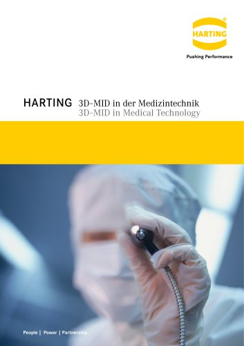 HARTING 3D-MID in Medical Technology