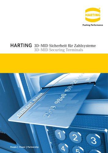 HARTING 3D-MID Securing Terminals