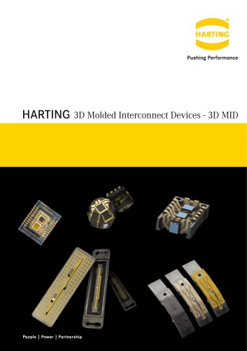 Micro Packaging: 3D Molded Interconnect Devices - 3D MID